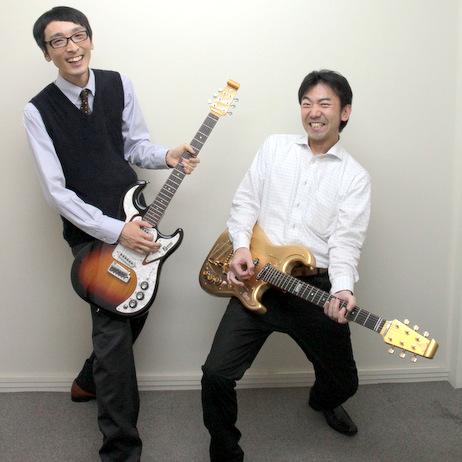 左から、今回お話をうかがった、販促企画部の戸口 卓男さんと、飛び入りで参加していただいた商品開発事業部の福島 実さん