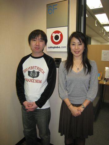 お話を伺った原さん、青木さん(左から)