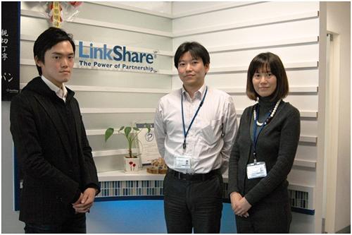 左からリンクシェア・ジャパンの小野真寛さん、高橋俊仁さん、安島奈美さん