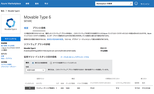 Movable Type for Azure