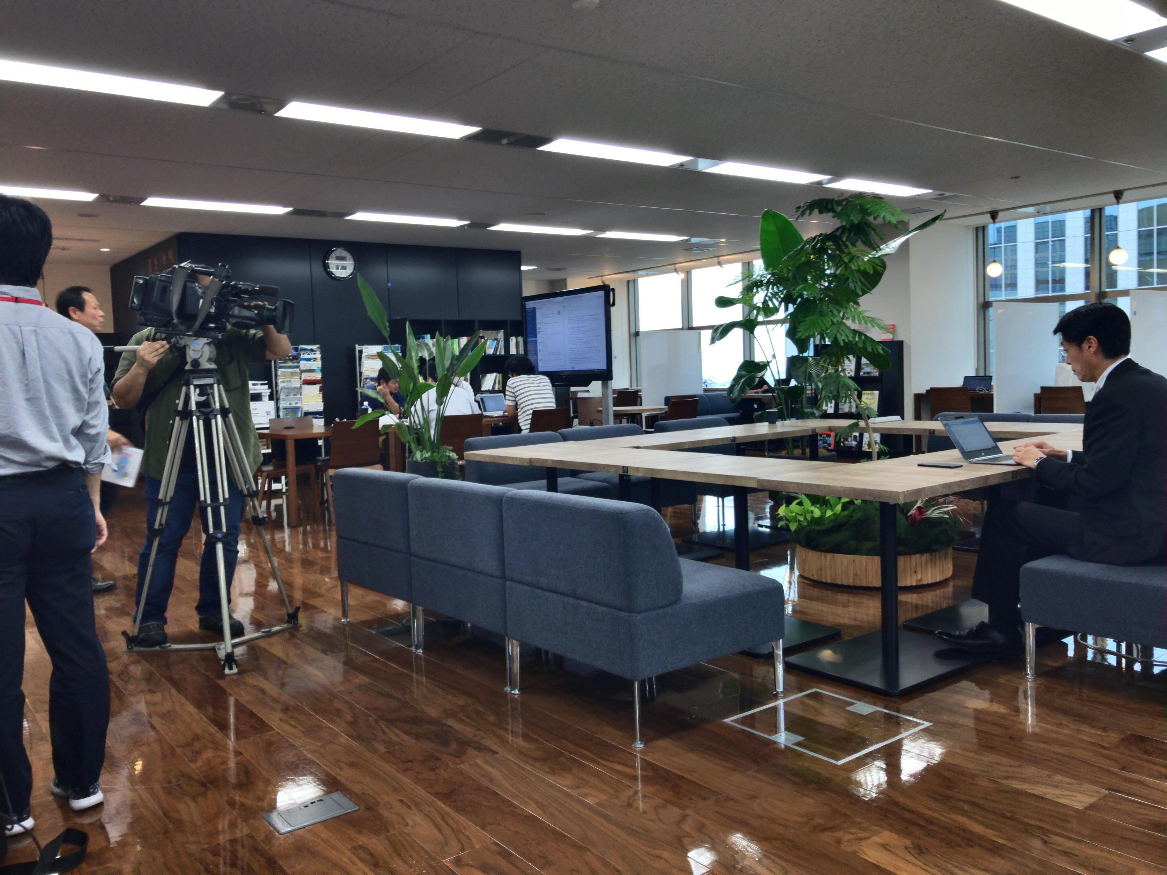 【9/6(水)放映予定】テレビ東京「WBS(ワールドビジネスサテライト)」に取材いただきました